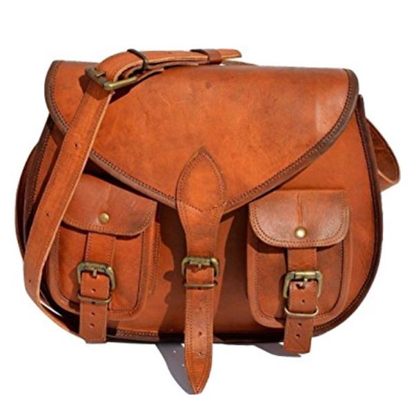 b3d9dec8430b S&F Leather Purse Designer Crossbody Shoulder Bag Travel Satchel Women  Handbag Ipad Bag